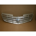 06 07 08 09 10 11 Caillac DTS Grille w/o Adaptive Cruise Brushed Chrome