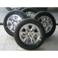 "Chevy Silverado Tahoe Avalanche 18"" Chrome Clad Wheels Rims Tires"