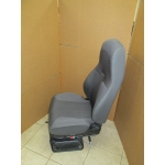 NATIONAL AIR RIDE SEAT 2 WAY AIR ADJUSTING POSITIONS GREY CLOTH NO ARM REST