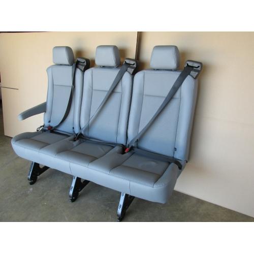 15 16 17 Ford Transit Van Passenger Vinyl 3 Person Couch