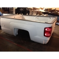 14 15 16 17 18 19 CHEVY SILVERADO TRUCK BED LONG 8' BOX WHITE