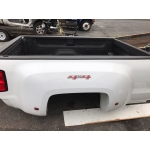 14 15 16 17 CHEVY SILVERADO GMC DUALLY DUAL WHEEL TRUCK BED LONG 8' With Hitch