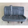 08-15 Chevy Express Savana Van 2ND 3RD Row Bench Seat 3 passenger Grey Vinyl