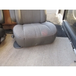 97-17 CHEVY GMC EXPRESS SAVANNA VAN DRIVER PASSENGER BUCKET SEATS GRAY CLOTH