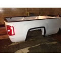 14 15 16 17 18 19 GMC SIERRA TRUCK BED LONG 8' BOX WHITE