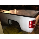 14 15 16 17 GMC SIERRA TRUCK BED LONG 8' BOX WHITE