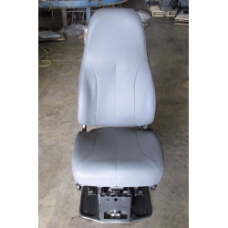 NATIONAL AIR RIDE SEAT 2 WAY AIR ADJUSTING POSITIONS GREY VINYL NO ARM REST