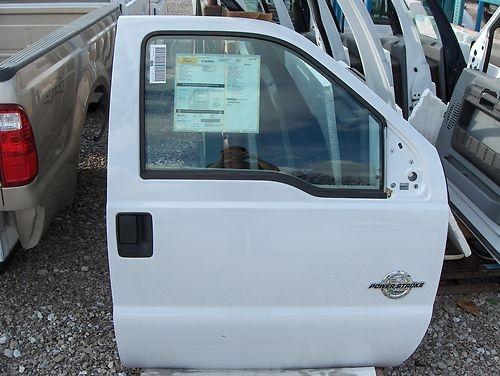 Ford F250 F350 F450 F550 Super Duty Rh Door With Power White Nto  08
