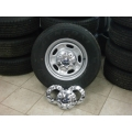 "05 06 07 08 09 10 11 12 13 14 Ford Super Duty 17"" AGRENT GRAY Steel Wheels and Tires"