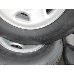 07-16 NTO 8 Lug Chevy Silverado Express Van 2500 3500 Steel Wheels Tires Centers