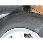 07-16 NTO 8 Lug GMC Sierra Savanna Van 2500 3500 Steel Wheels Tires Centers
